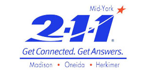 Mid-York 211. Get Connected. Get Answers.