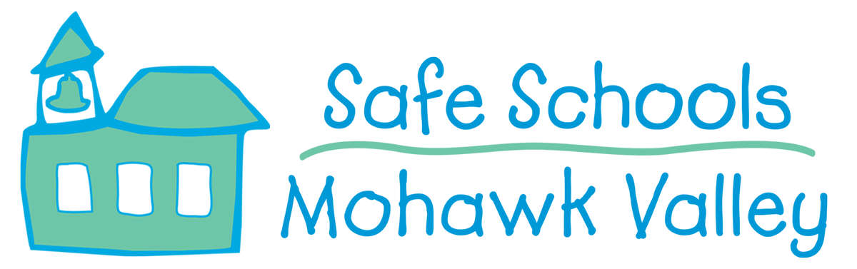 Logo for Safe Schools Mohawk Valley: Keeping Kids in School